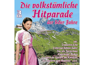 VARIOUS - Die Volkstümliche Hitparade Der 50er Jahre  - (CD)