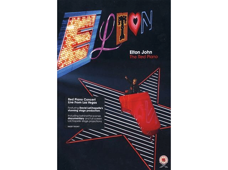 Elton John - The Red Piano (Standard Amaray) [DVD]