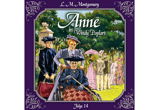 Lutz Mackensy - Anne in Windy Poplars 14: Ein harter Brocken  - (CD)