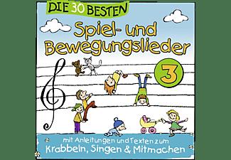 Simone Sommerland, Karsten Glück, Die Kita Frösche - Die 30 Besten Spiel- Und Bewegungslieder Vol.3 [CD]