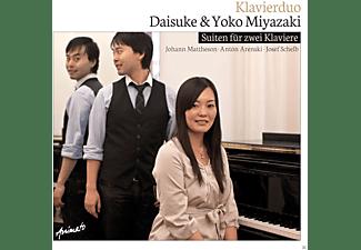 Daisuke Miyazaki, Yoko Miyazaki - Suites For Two Pianos  - (CD)