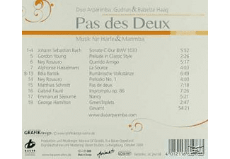 Arparimba Duett, Duo Arparimba - Pas Des Deux  - (CD)