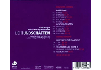 Morgan & Hoelszky-wiedemann - Lichtundschatten  - (CD)