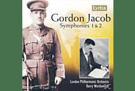 Barry London Philharmonic Orchestra & Wordsworth - Gordon Jacob: Symphonies 1 & 2 [CD]