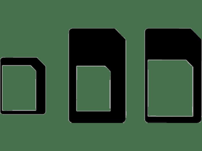 CELLULAR LINE Kit adaptateur SIM 3 en 1 (UNIVERSALSIMADAPT)