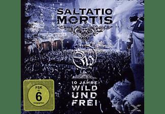 Saltatio Mortis - 10 Jahre Wild Und Frei  - (CD + DVD Video)