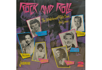 VARIOUS - ROCK AND ROLL - THE ESTABLISHMENT FIGHTS BACK AND  - (CD)