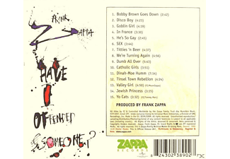 Frank Zappa - Have I Offended Someone  - (CD)