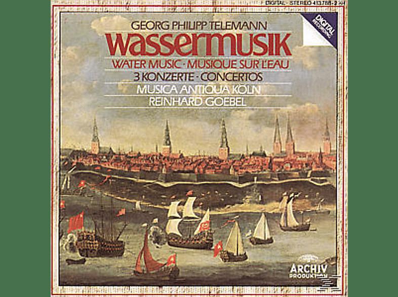 Reinhard Goebel, Reinhard/mak Goebel - Wassermusik/3 Konzerte [CD]