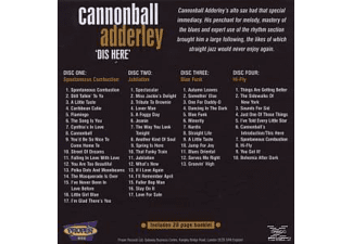 Julian Cannonball Adderley - Dis Here  - (CD)