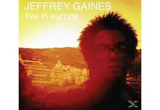 Jeffrey Gaines - Live In Europe  - (CD)