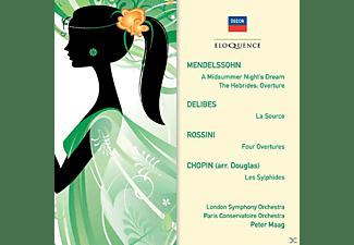 London Symphony Orchestra, Paris Conservatoire Orchestra, Jennifer Vyvyan - Orchesterwerke  - (CD)