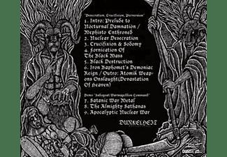Nocturnal Damnation - Desecration,Crucifixion,Perversion  - (CD)
