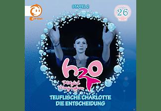 H2o-Plötzlich Meerjungfrau! - 26: Teuflische Charlotte/Die Entscheidung  - (CD)