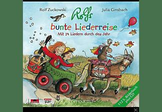 Rolf Zuckowski - Rolfs bunte Liederreise  - (CD)