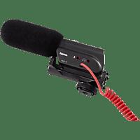 """HAMA """"RMZ-18"""", Richtmikrofon, Schwarz, passend für Kamera, Camcorder"""