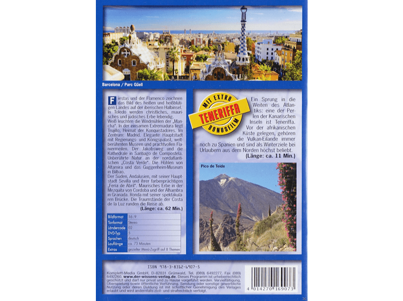 Spanien - welt weit [DVD]