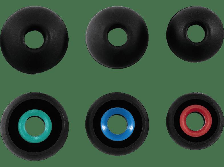 HAMA 6 Stück Silikon-Ersatzohrpolster