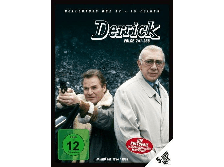 Derrick: Collector's Box Vol. 17 (Folge 241-255) [DVD]