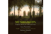 Luca Fiorentini, Stefa Redaelli - Mendelssohn: Complete Works For Cello And Piano [CD]