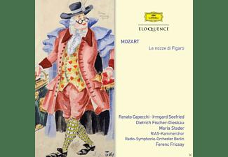 Renato Capecchi, Irmgard Seefried, Dietrich Fischer-Dieskau, Radio Symphonie Orchester Berlin, Rias Kammerchor - Le nozze di Figaro  - (CD)