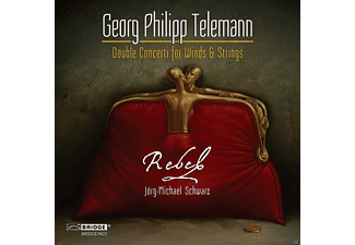 Rebel Ensemble For Baroque - Telemann: Double Concerti For Winds & Strings  - (CD)