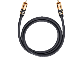 oehlbach 21532 nf sub kabel cinch cinch 2m mono cinch kabel 2000 mm in schwarz kaufen saturn. Black Bedroom Furniture Sets. Home Design Ideas