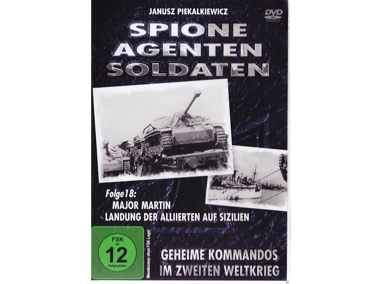 Spione, Agenten, Soldaten, Folge 18 - Major Martin: Landung der Alliierten auf Sizilien [DVD]