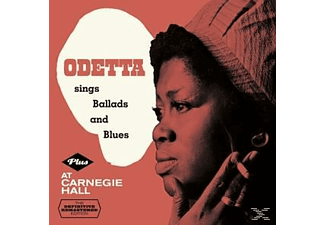 Odetta - Sings Ballads And Blues+At Carnegie Hall  - (CD)