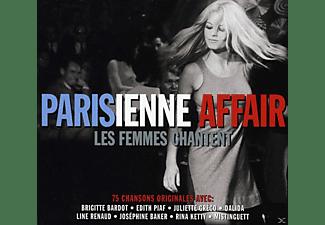VARIOUS - Parisienne Affair - Les Femmes Chantent  - (CD)