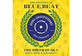 VARIOUS - The History Of Bluebeat - The Birth Of Ska (BB26-BB50 A & B Sides)  - (CD)