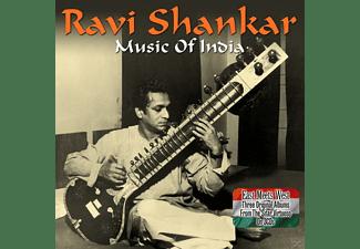 Ravi Shankar - Music Of India  - (CD)