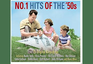 VARIOUS - No.1 Hits Of The 50's  - (CD)
