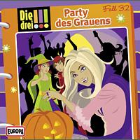 Die Drei !!! - Die drei !!! 32: Party des Grauens - (CD)