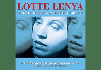 Lotte Lenya - Sings Kurt Weil & Berthold Brecht  - (CD)