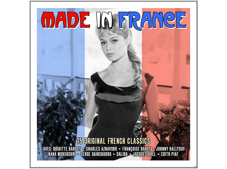 VARIOUS - Made In France [CD]