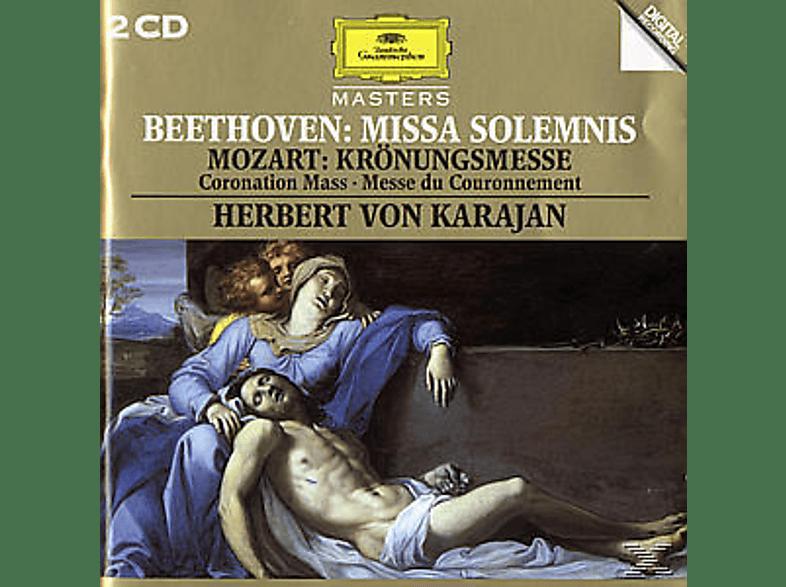 VARIOUS, Battle,Kathleen/Karajan,Herbert Von/BP/WP/+ - Missa Solemnis/Krönungsmesse Kv 317 [CD]