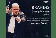 Jaap Van Zweden, Netherlands Philharmonic Orchestra, Zweden Van/netherlands Philharmonic Orchestra Jaap - Brahms: Sämtliche Sinfonien 1-4 [CD]