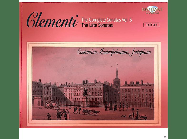 Costantino Mastroprimiano - The Complete Sonatas Vol. 6 [CD]