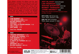 Art Blakey, Lee Morgan, Wayne Shorter, Bobby Timmons, Jymie Merritt, Art Blakey and the Jazz Messengers - Tokyo 1961 - The Complete Concerts  - (CD)