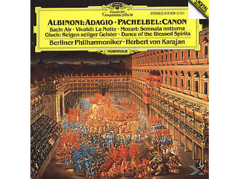 Carl August Nielsen, Herbert Von Bp/karajan - Adagio/Canon/+ [CD]