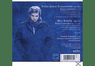 David Zinman, Toz, Valery Sokolov - Violinkonzerte  - (CD)