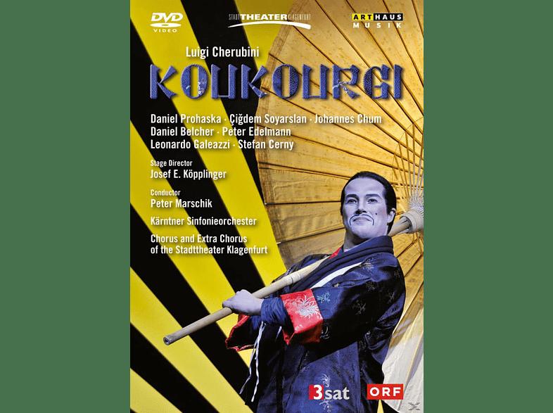 Stefan Cerny, Cigdem Soyarslan, Leonardo Galeazzi, Daniel Prohaska, Peter Edelmann, Kärtner Sinfonieorchester - Koukourgi [DVD]