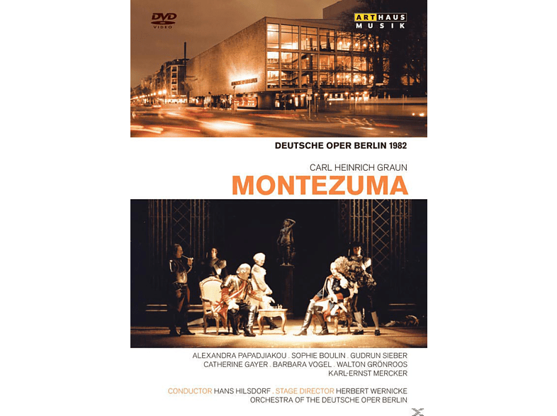 Alexandra Papadjakou, Sophie Boulin, Gudrun Sieber - Montezuma [DVD]