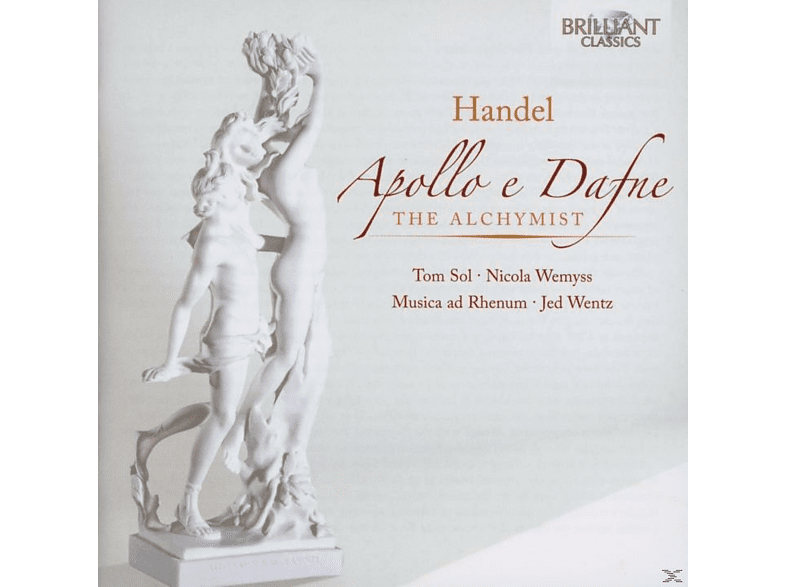 Michael Borgstede, Jed Wentz, Musica Ad Rhenum, Nicola Wemyss, Tom Sol - Händel:Der Alchimist / Apollo E Dafne [CD]