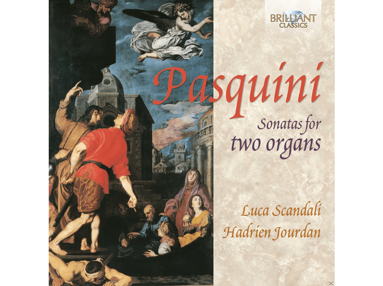 Hadrien Jourdan, Luca Scandali - Sonatas For Two Organs [CD]