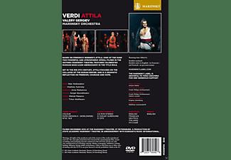 lldar Abdrazakov, Vladislav Sulimsky, Anna Markarova, Sergei Skorokhodov, Mikhail Makarov, Timur Abdikeyev, Mariinsky Orchestra - Attila  - (DVD)