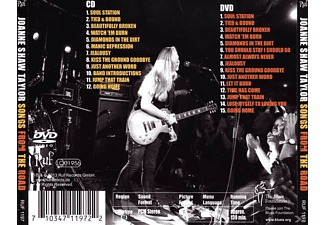 Joanne Shaw Taylor - Songs From The Road  - (CD + DVD Video)