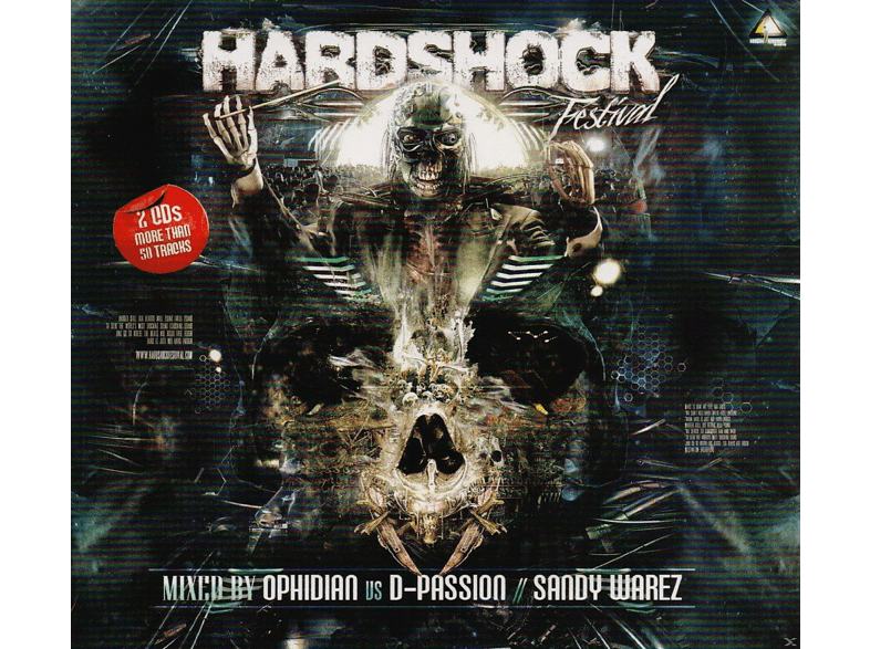 D-passion, Ophidian, Sandy Warez, VARIOUS - Hardshock 2014 [CD]