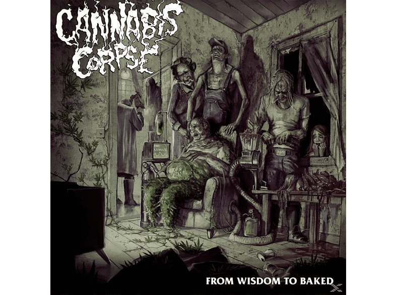 Cannabis Corpse - From Wisdom To Baked (Black Vinyl) [Vinyl]